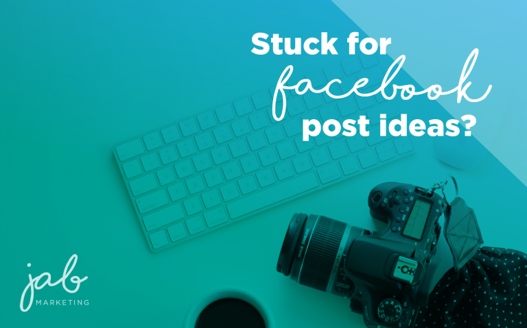 stuck for facebook post ideas?