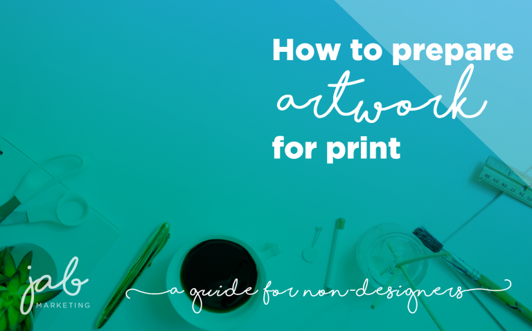 how to prepare artwork for print