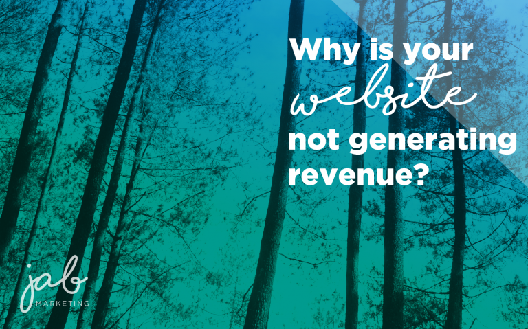 why your website is not generating revenue