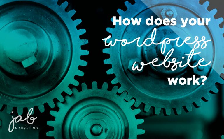 how do wordpress websites work?